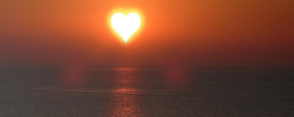 Herz-Sonne-Ozean-Gesund