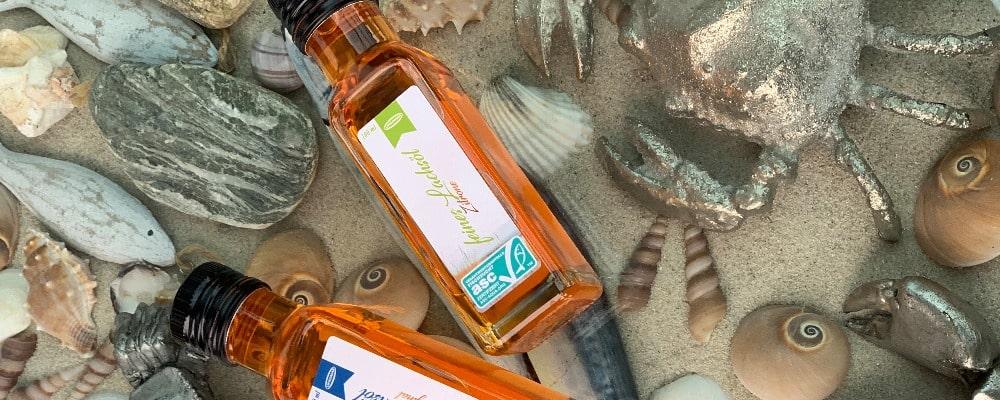 Lachsöl-Meer-ASC-zertifiziert